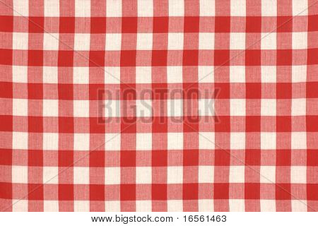 Red Picnic Cloth