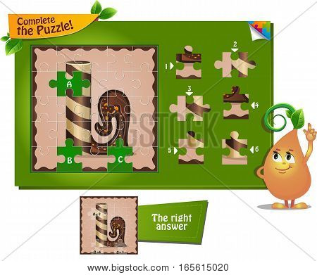 Puzzle Letters Of The Alphabet L