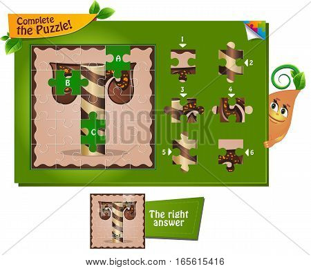 Puzzle Letters Of The Alphabet T