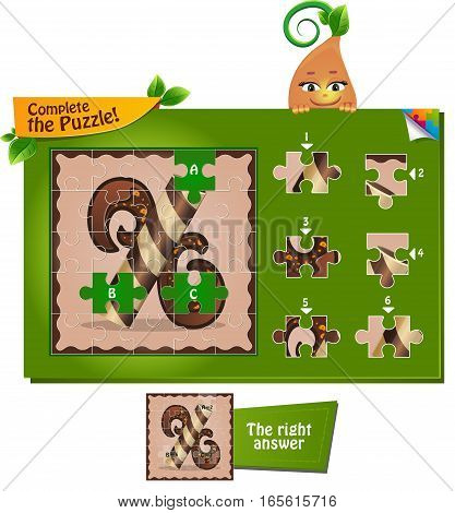 Puzzle Letters Of The Alphabet X