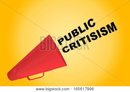 Public Criticism Concept