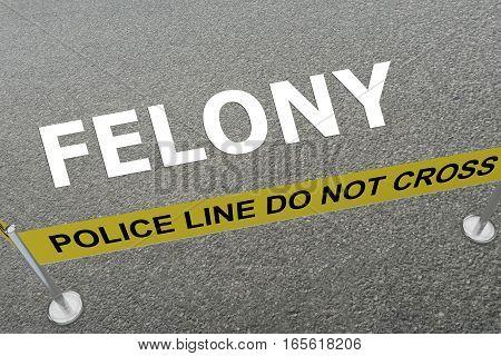 Felony - Criminal Concept