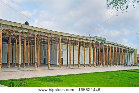 The Friday Mosque In Kokand