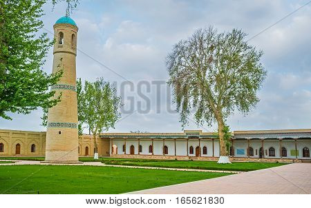 The Ensemble Of The Jami Mosque In Kokand