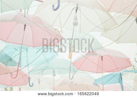 Umbrella Pattern Pastel
