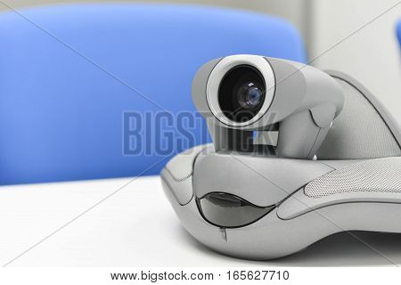 Video Conference Device in the meeting room for teleconference