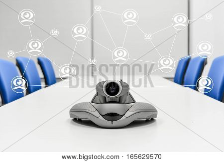 Video Conference is Connecting to another device