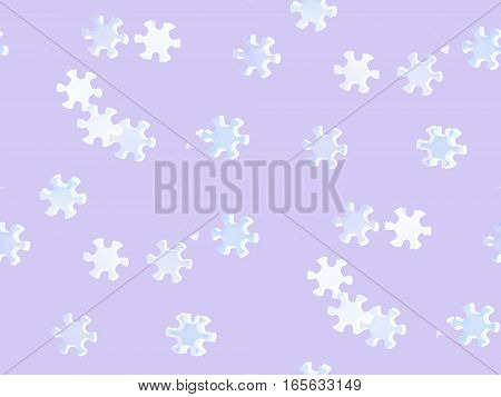 abstract purple background seamless colorful star flower six petals of light and dark pattern