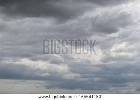 Partly cloudy overcast and rain will fall.