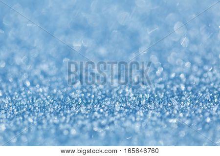Shining Crystals Bokeh Macro