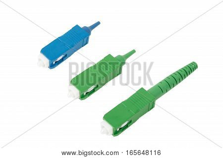 Sc Fiber Optic Connectors Isolated