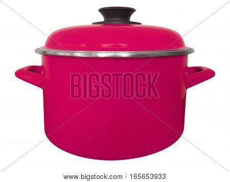Saucepan Isolated - Pink