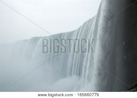 Niagara Falls in Winter in Journey Behind the Falls