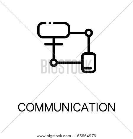 Network icon. Single high quality outline symbol for web design or mobile app. Thin line sign for design logo. Black outline pictogram on white background