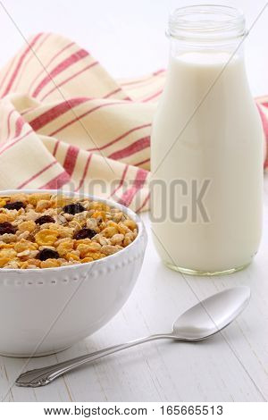 Delicious Muesli Breakfast