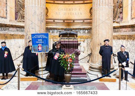 Tomb Of The Victor Emmanuel Ii