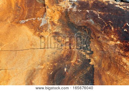 geological layers of earth - layered rock the universe magma pattern