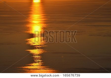 sea at sunset sun path. card. backgrounds for travel trips to the south. memories memory. it is time to relax sunbathe