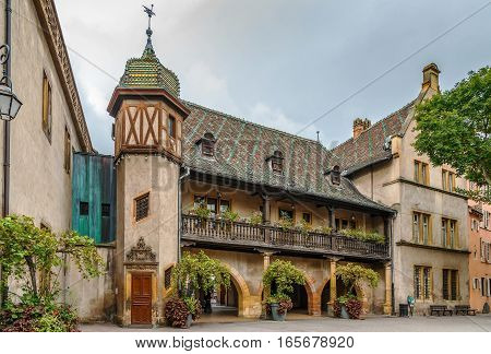 Koifhus (Old Custom House) is a historical monument located in Colmar French. It is the oldest local public building