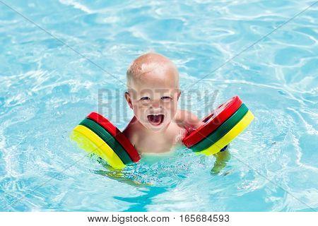 Little Boy In Swimming Suit