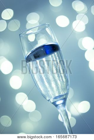 Champagne Glass In Party