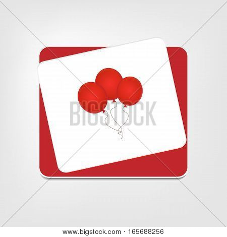vector illustration modern icon isolated air ballon on background transparency