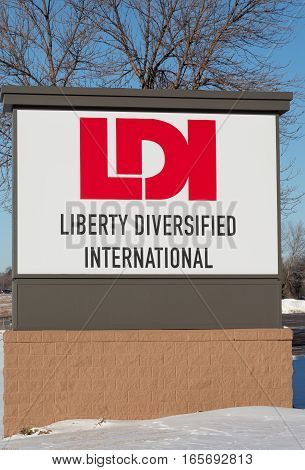 Liberty Diversified International Headquarters And Sign