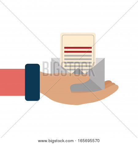 envelope letter isolated icon vector illustration design