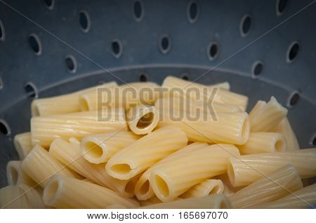 Cooking Fresh Pasta In A Pot On The Hob