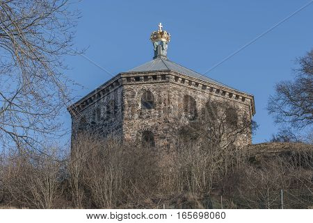 Skansen Kronan fortress in Gothenburg, travel Sweden