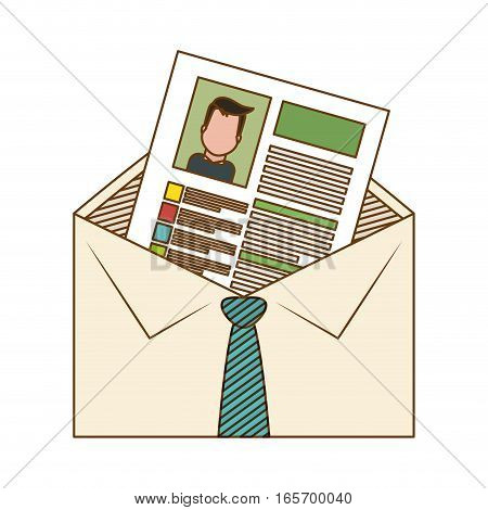 cv or resume related icons image vector illustration design