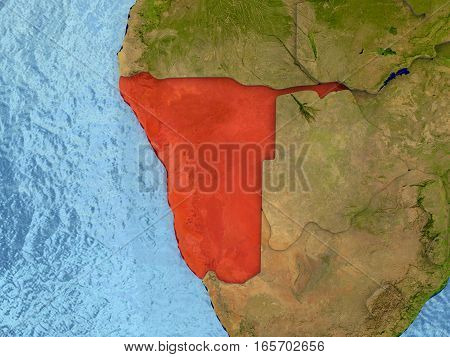 Namibia In Red