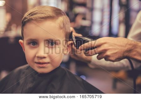 Kid At The Barber Shop