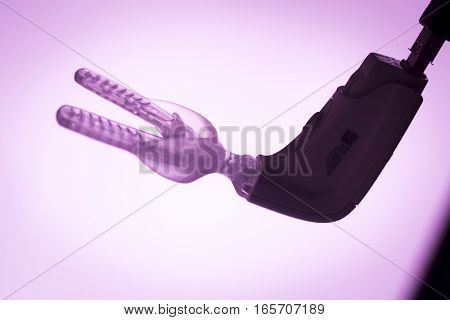 Teeth Bracket Orthodontics Vibrator