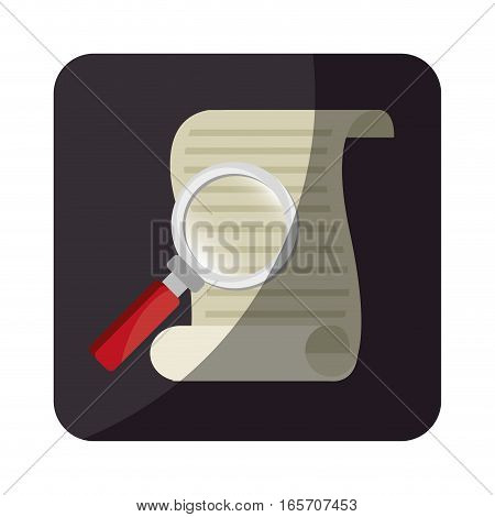 justice document isolated icon vector illustration design