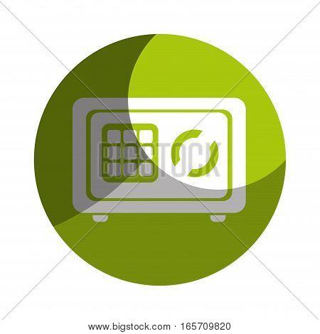 safe money box icon vector illustration design