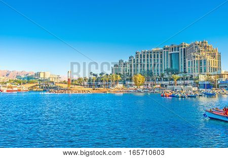 Eilat From The Sea
