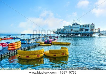 The Inflatable Boats In Haven