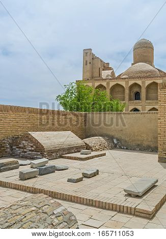 The Medieval Cemetery In Chor-bakr