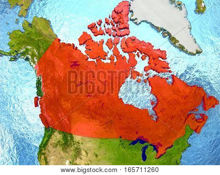 Canada In Red