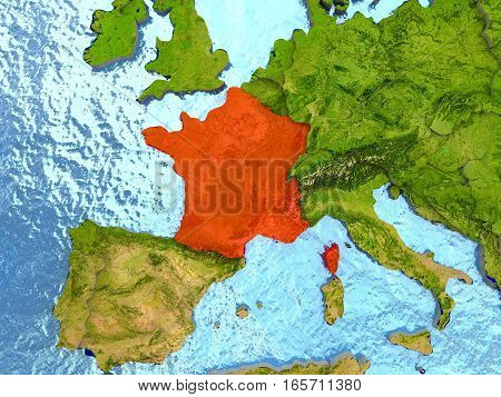 France In Red