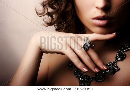 schöne Frau. Fashion Art photo