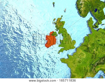 Ireland In Red