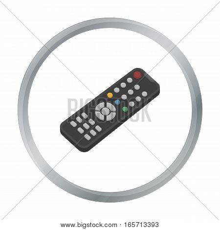 Remote control icon in cartoon style isolated on white background. Films and cinema symbol vector illustration.