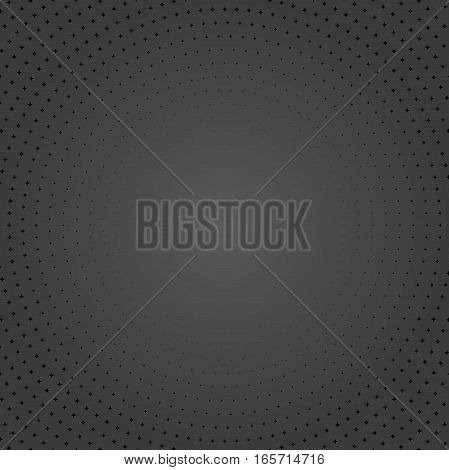 Seamless geometric vector pattern. Modern ornament with black elements. Geometric abstract pattern