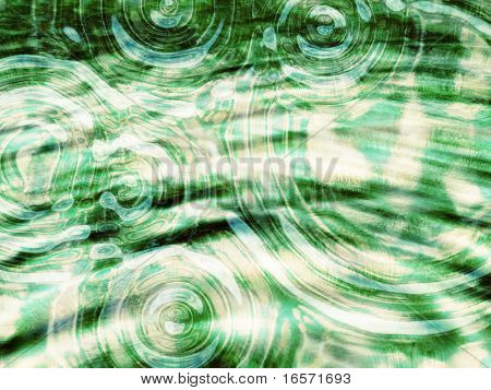 A bright abstract water background poster