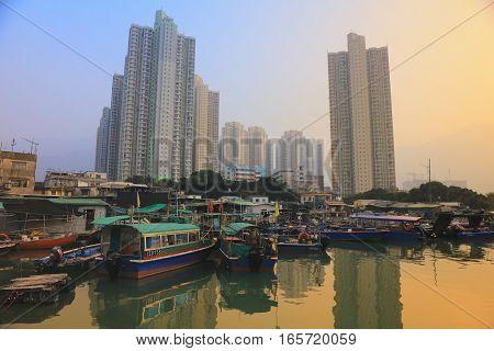 Yat Tung Estate At Tung Chung
