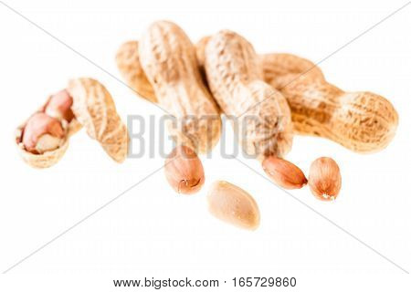 Some Peanuts Over White