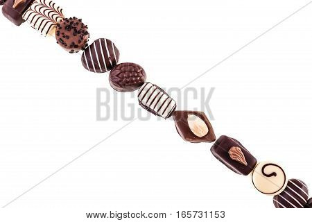 Row Of Chocolate