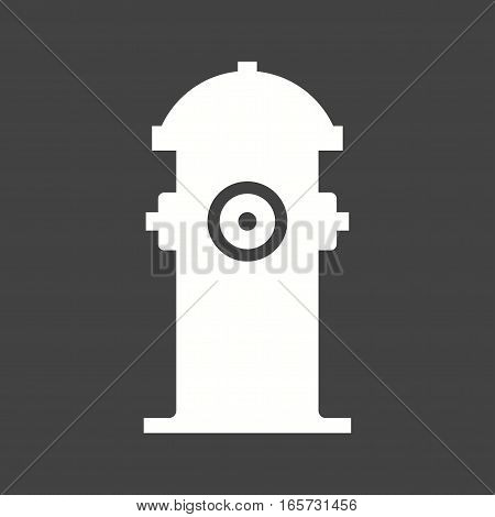 Hydrant, fire, red icon vector image. Can also be used for firefighting.